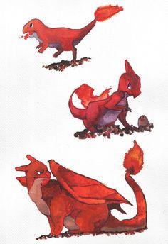 Fire starters 004-006 by evelmiina.deviantart.com on @deviantART