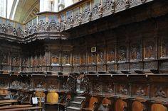 The Choir by Damien Forment, 1521-27  in the Catedral de Santo Domingo de La Calzada