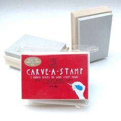 Carve-a-Stamp Refill Blocks