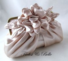 Blush Bridal Clutch wedding clutch and Evening by FuchstandBelle, $125.00