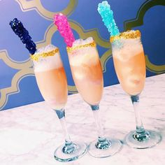 I saw @danielletullo's @cosmopolitan post with Unicorn Mimosa's and kinda fell in love. They are super pretty and look scrumptious. #mimosas #unicornparty #cosmobites #cosmopolitanmagazine #thatsdarling #prettydrink