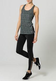 683aa9dd5b4b Nike Performance - EPIC - Tights - black grey mist reflective silver ...