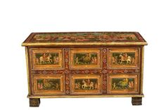 A personal favourite from my Etsy shop https://www.etsy.com/uk/listing/484747366/handpainted-indian-trunk