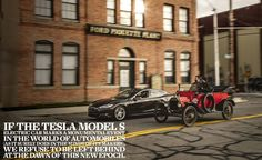 2013 Tesla Model S vs. 1915 Ford Model T: Race of the Centuries – Feature – Car and Driver