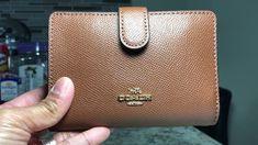Coach medium Corner Zip Wallet - YouTube Zip Wallet, Corner, Handbags, Medium, Youtube, Women, Totes, Purse