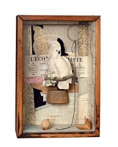 Joseph Cornell created curious worlds of long ago and far away in his boxes of found objects. We examine the work of this American trailblazer ahead of his RA exhibition.