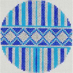 Blue/Silver Stripes 1