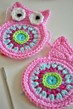 Crochet Owl Inspiration ❥ 4U // hf