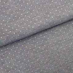 Ce produit est disponible en différentes longueurs prédécoupée : 50 cm, 1 m, 1,5 m, 2 mPensez à vérifier le stock sur les différentes longueurs pour obtenir la longueur souhaitée :-)Cette maille a l'aspect côtelé est assez souple, vous pourrez réaliser de jolies robes, jupes, blouses, legging... On craque pour ses minis pois métallique qui font toute l'originalité de ce tissu ! Composition : 70% Polyester - 25% Viscose - 5 % Spandex pour un super confort ! Largeur du tissu : 150 cm...