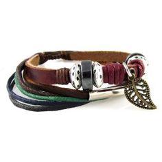 Leather Zen Bracelet