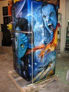 Coolest custom fridge