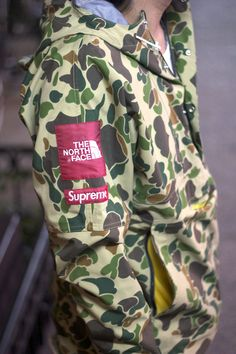Supreme on camouflage! Can't get any better!#SUPREME