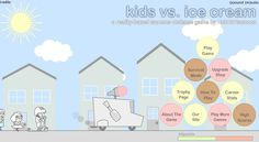 Stop the ice-cream obsessed #Kids from destroying your truck by serving the kids fully with ice creams and other cool stuffs 🍋🍊🍎 🍨🍦🍧🍋🍊🍎! The more you play, the more money you get to upgrade your equipment. Lots of fun in KIDS Vs. ICE CREAM are waiting for you to discover! 😍 Tags: #Shooting #Summer #Friv2017