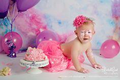 Rachael Cook Photography, Idaho Falls Newborn and Child Photographer, Cake Smash, One Year Session