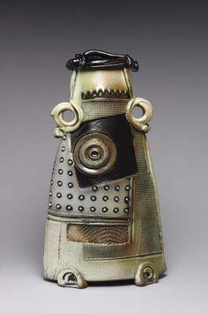 Sandra Blain, ceramic artist.