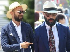 DID YOU KNOW? The Panama hat is made from the leaves of the Toquilla palm and despite the name, it doesn't have  Panamanian origin, but it hails from Ecuador. It became famous in the early 20th century thanks to workers building the Panama shipping canal which connects Atlantic and Pacific oceans.