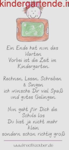 Sayings for schooling - first day of school - Sprüche zur Einschulung – erster Schultag – Kreativzauber® short and creative schooling slogans – congratulations on the first day of school and the beginning of school. This is how school can start!