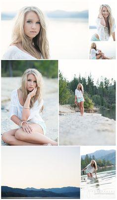 beach portraits senior + pictures