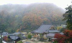 Autumn in rural Japan.