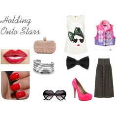Holding Onto Stars, created by fashionstachristy on Polyvore