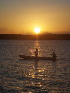 Por do sol - Praia do Jacaré - João Pessoa-PB-Brasil