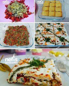 """Instagram'da Nefis Yemek Tarifleri: """"Etimekli Yoğurtlu Gün Salatası Tarifi ❤️ Malzemeleri Közlenmiş Harç İçin ; 4 adet iri patlıcan 4 adet kapya biber 4 yemek kaşığı sıvı…"""""""