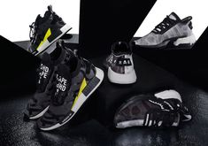Japanese streetwear pioneers Bape and Neighborhood have collaborated with Adidas on the POD and NMD STLT. Check out official release details here. Adidas Nmd, Hypebeast, Japanese Streetwear, White Camo, 70th Anniversary, Bape, A Bathing Ape, Japanese Outfits, Superfly