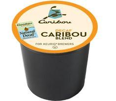Caribou Decaf Blend Keurig K-Cups For Sale at CapeJava.coms