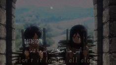 Anime Songs, Anime Music, Bullet Journal Lettering Ideas, Best Anime Shows, Anime Weapons, Attack On Titan Anime, Mikasa, Eminem, Kawaii Anime
