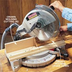 How to Use a Power Miter Saw. Cut trim and moldings so they fit like a glove. A power miter saw is an essential tool for almost any type of carpentry work. This article explains basic techniques for using the miter saw, along with tips and tricks for getting the best results.