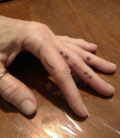 Miso : home-made tattoos : galaxy hands for Sandra, traded for whiskey : Melbourne, 2013. #fingertattoos