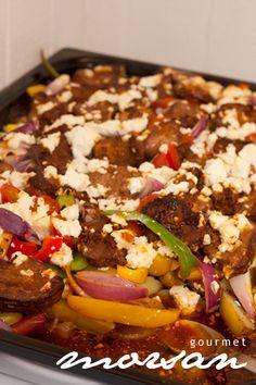 Grekisk pytt Healthy Breakfast Recipes, Snack Recipes, Dinner Recipes, Pork Recipes, Mexican Food Recipes, One Pot Meals, Food Blogs, Food Pictures, Love Food