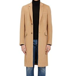 A camel top coat looks just as good with sweatpants and sneakers as it does with a suit. Mens Essentials, Fashion Essentials, Style Essentials, Camel Tops, Valentino Men, Indian Models, Dress Patterns, Heart Patterns, Doll Patterns