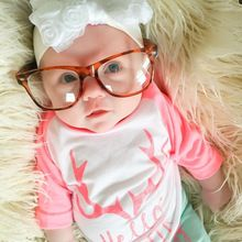 Newborn Toddler Infant Baby Girl Clothes Set Long Sleeve T-shirt Tops+Pants Outfit Xmas Children Girls Christmas Winter Clothes(China (Mainland))