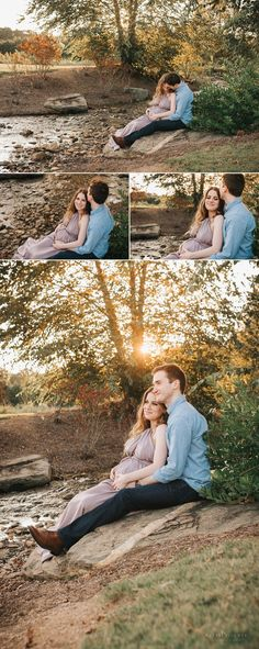 Dreamy Sunset Maternity Session, Atlanta Maternity Photographer-7