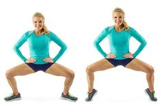 Everyone knows that squat is the king of the exercises. So try these 10 different squat variations in order to target better hips, butt and thighs. Fitness Workouts, You Fitness, At Home Workouts, Fitness Motivation, Glute Workouts, Dance Fitness, Skinny Mom, Skinny Jeans, Thin Thighs Workout