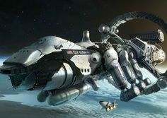 Realistic Space Ship - Pics about space