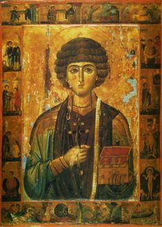 Святой Пантелеймон-целитель! Исцели нас от недугов душевных и телесных!