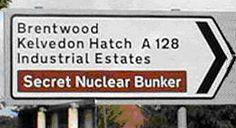 Secret Bunker - Not any more!