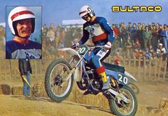1979 Bultaco Promo featuring the Great Jim Pomeroy on a MK12 Pursang