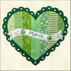 Free Patterns March. PDF Additional months will be available as a Free Download around the 7th of each month.