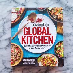Global Kitchen by David Joachim New Cookbook