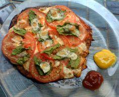 """Mudando de vida...: """"Pizza"""" de couve flor.."""