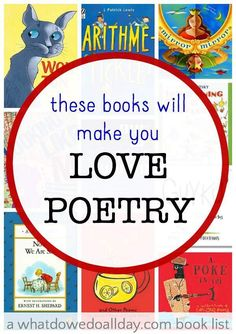 Poetry books that will make you love poetry, even if you though your didn't like it.