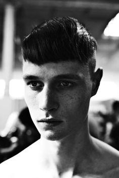 Andrew Westermann by Sonny Vandevelde @ Lanvin SS13