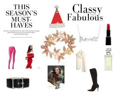 """""""Christmas Bride 17"""" by chrisone on Polyvore featuring Bling Jewelry, Club L, TIARA, Givenchy, Giorgio Armani, Betsey Johnson, Madewell, H&M and Calvin Klein"""