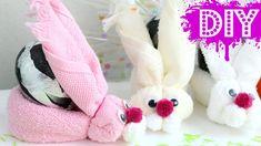 DIY: Coelhinho de Toalha - Lembrança de Páscoa | VoudeBlush