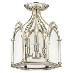 Annadale Semi Flush Mount by Hudson Valley - $550 Lightology