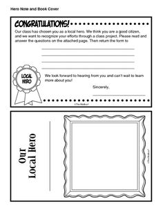 Spotlighting Local Heroes, Lesson Plans - The Mailbox