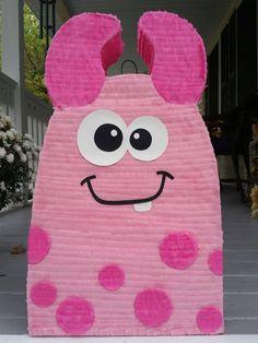 Piñata de monstruo fiesta de cumpleaños de monster monster